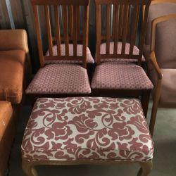 getting furniture reupholstered